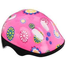Шлем защитный OT-SH6 детский, р S (52-54 см), цвет: розовый