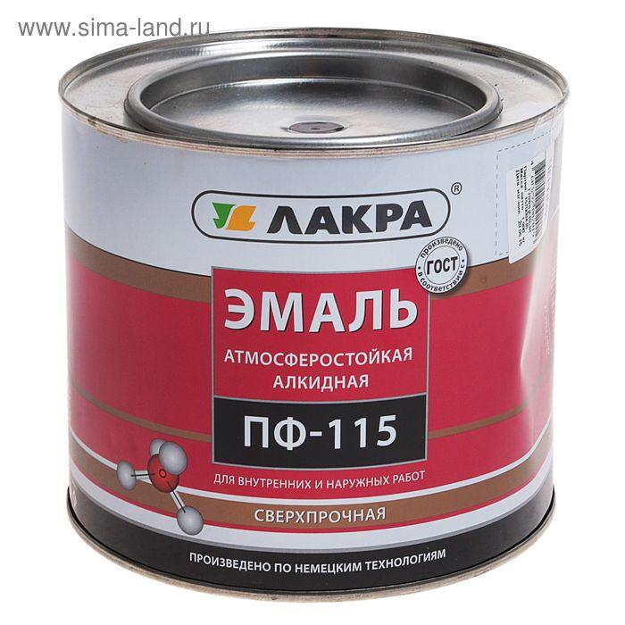 Эмаль ПФ-115  черный 1,9 кг