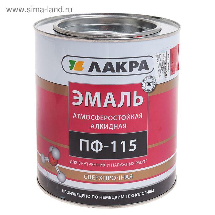 Эмаль ПФ-115  красная 2,8 кг