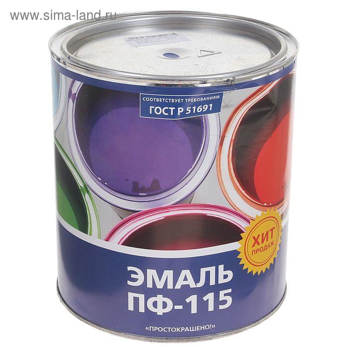 Эмаль ПФ-115 Простокрашено васильковая 2,7 кг