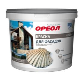 Краска водно-дисперсионная  Ореол для наружных работ 13 кг