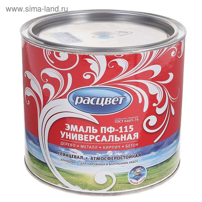 Эмаль Расцвет ПФ-115 светло-голубая 1,9 кг