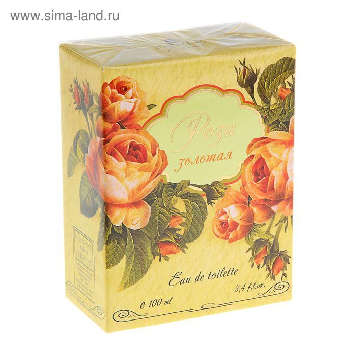 "Туалетная вода женская ""Роза золотая"", 100 мл"