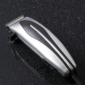 Машинка для стрижки волос LuazON LST-07, 15 Вт, шнур 1.8 м, насадки 3, 6, 10, 13 мм Ош