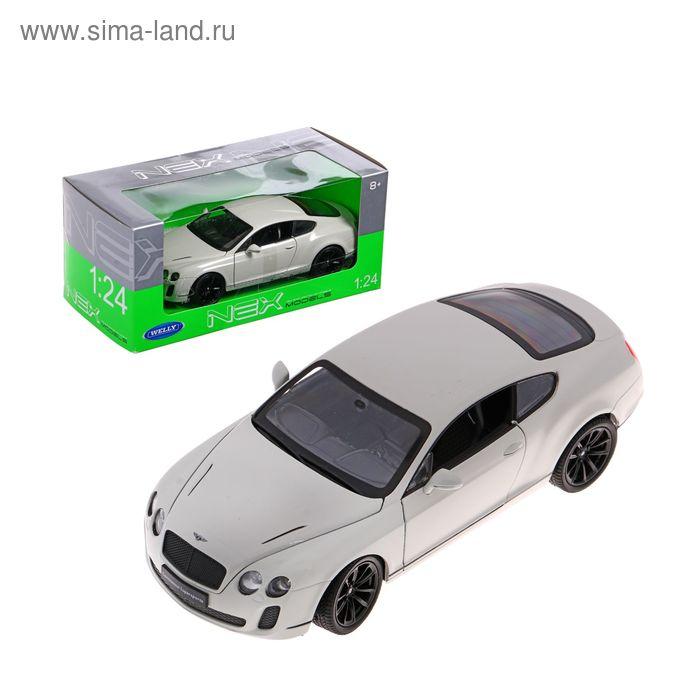 Модель машины Bentley Continental Supersports, масштаб 1:24