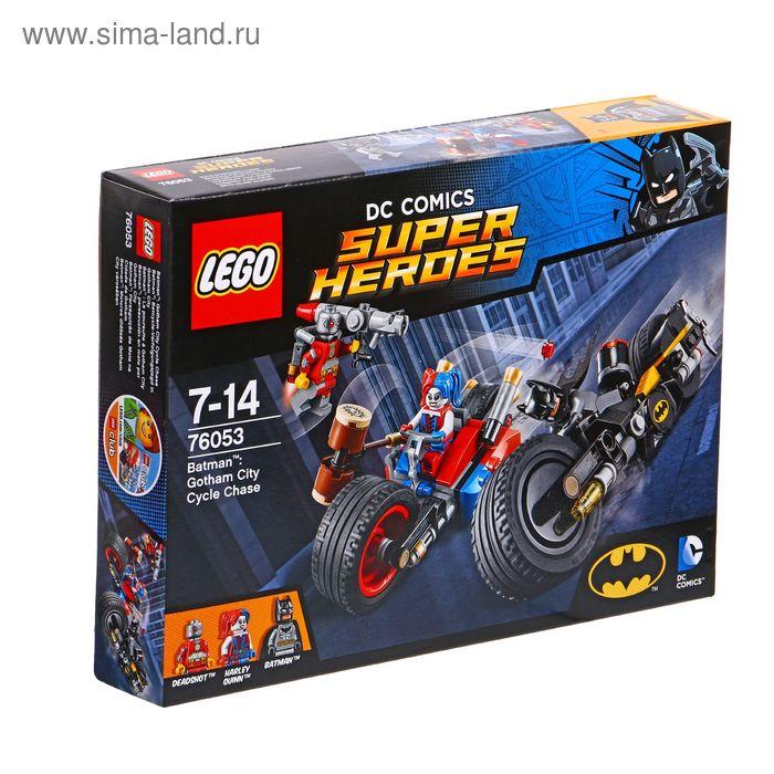 "Конструктор ""Бэтмен: Погоня на мотоциклах по Готэм сити"", 224 детали"
