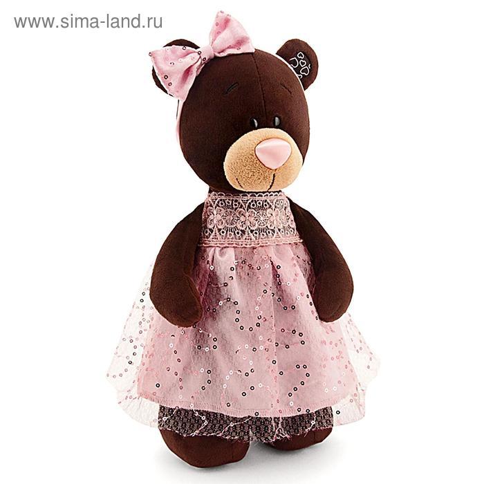 Мягкая игрушка «Milk стоячая в платье с блёстками»