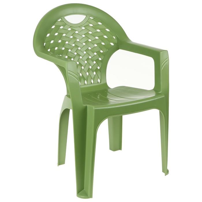 Кресло, цвет зелёный