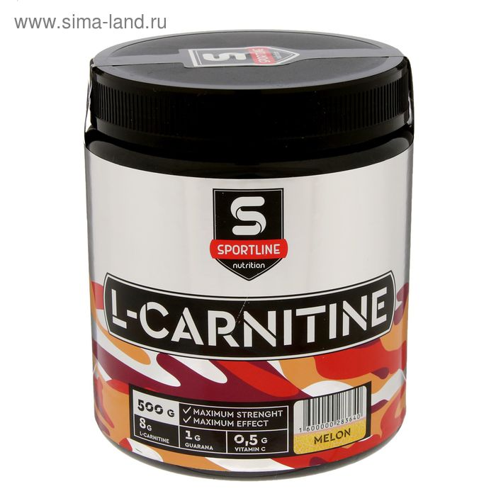L-Карнитин SportLine 500g (Дыня)
