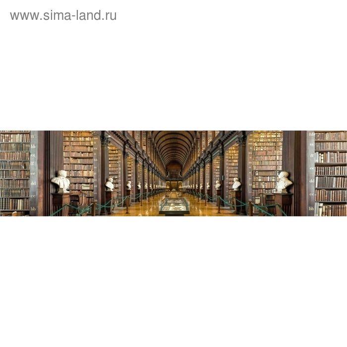 """Кухонный фартук """"Библиотека"""" 2440х600х3 мм"""