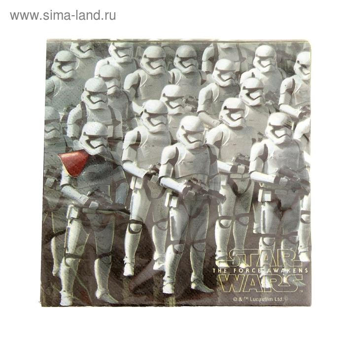 """Салфетки бумажные """"Звёздные войны 7"""", 33 х 33 см, набор 20 шт."""