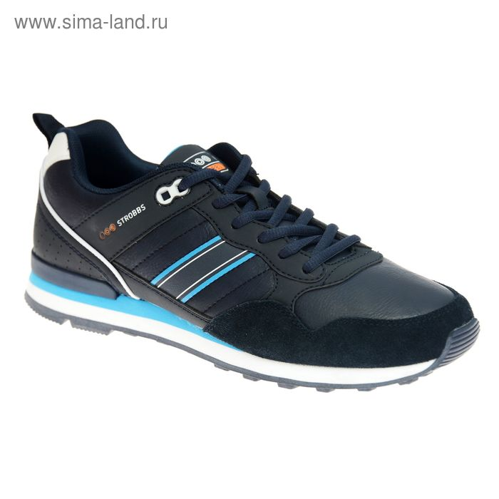 Кроссовки мужские STROBBS, цвет синий, размер 44 (арт. C2316-2)