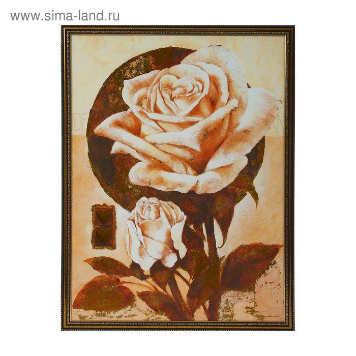 """Картина """"Большая роза"""""""