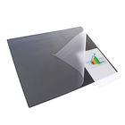 Покрытие настольное Durable, 65*52см, нескользящая основа, верхний прозрачный лист, цвет черный