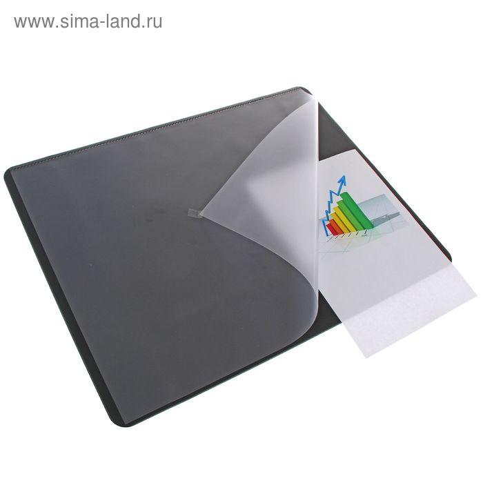 Покрытие настольное Durable, 53*40см, нескользящая основа, цвет черный