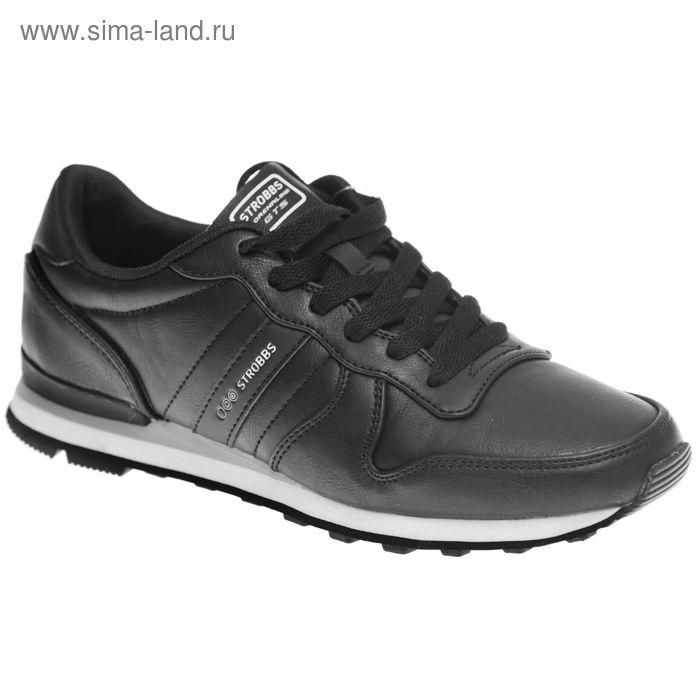 Кроссовки женские STROBBS, цвет чёрный, размер 38 (арт. F6366-3)