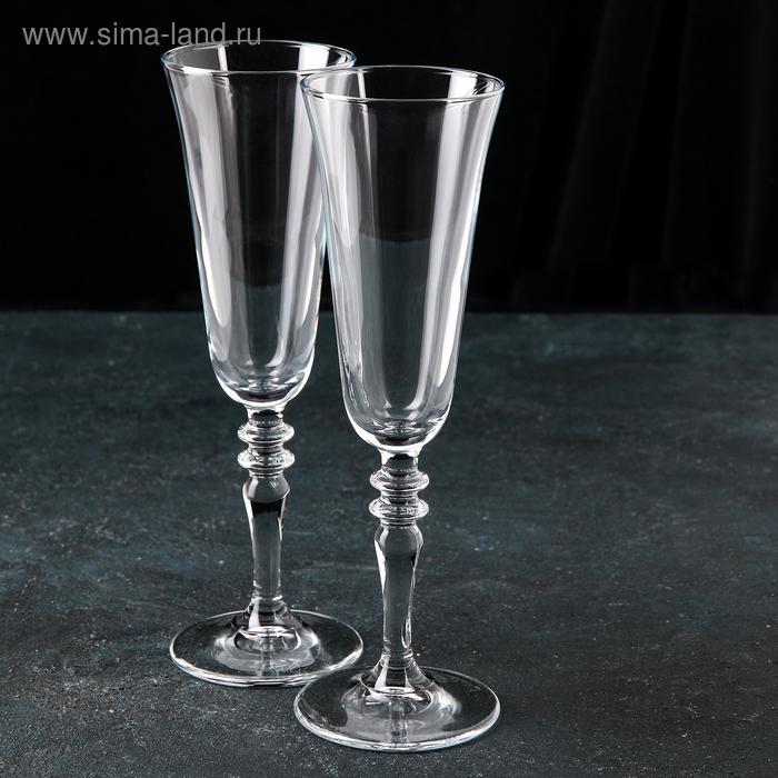 """Набор фужеров для шампанского 190 мл """"Винтаж"""", 2 шт"""