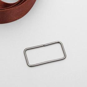 Рамка металл 30мм, цвет чёрный никель Ош