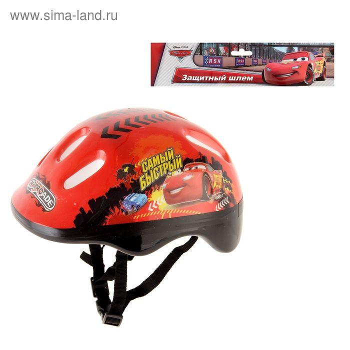 """Шлем защитный детский """"Тачки"""", р. L (59-61 см)"""