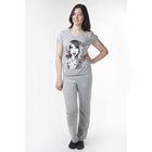 Комплект женский (футболка, брюки) МКД-01 МИКС, р-р 42