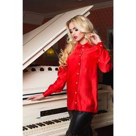 Блузка женская 72043  цвет красный, размер 42 (S), рост 164