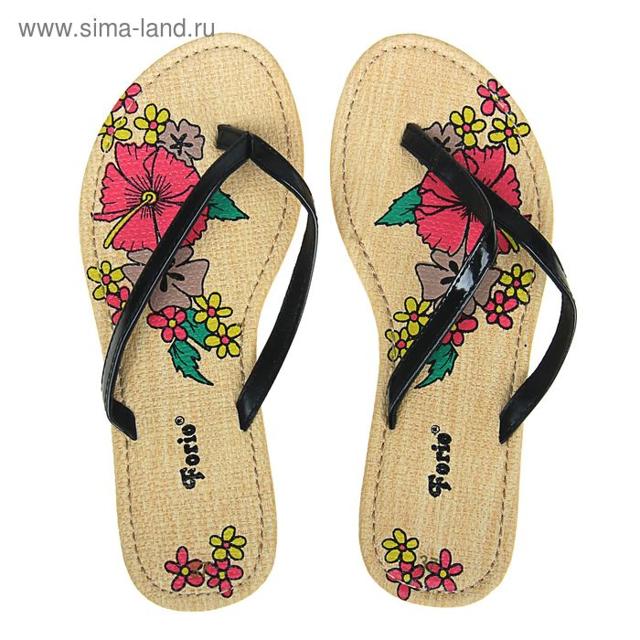 Туфли летние открытые женские Forio арт. 325-1008 (черный) (р.38)