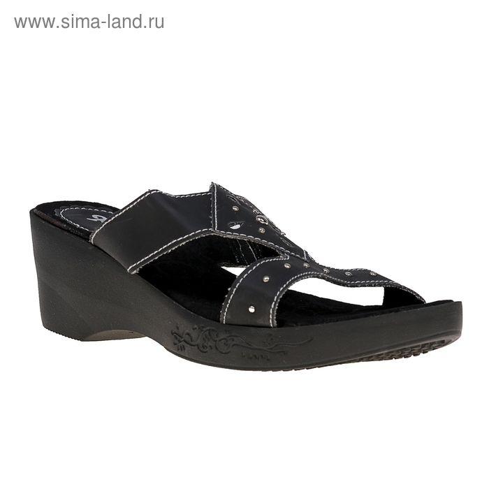 Туфли летние открытые женские Forio арт. 335-017 (черный) (р.37)