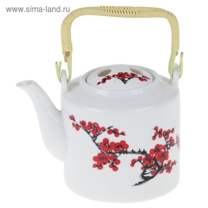 "Чайник заварочный с металл ситом ""Сакура"" 800 мл"