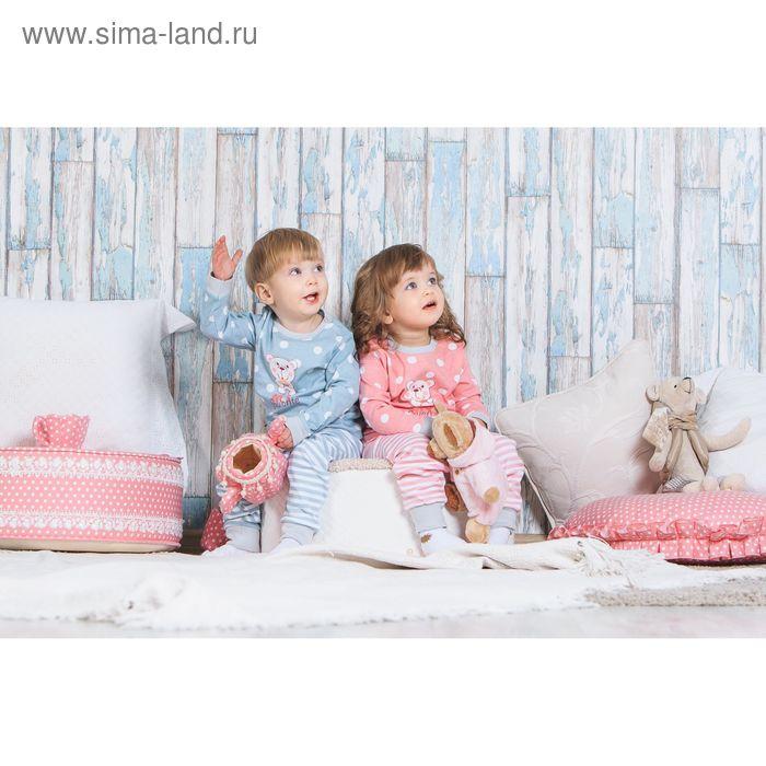 Распашонка детская, рост 62 см, цвет розовый (арт. AZ-591)