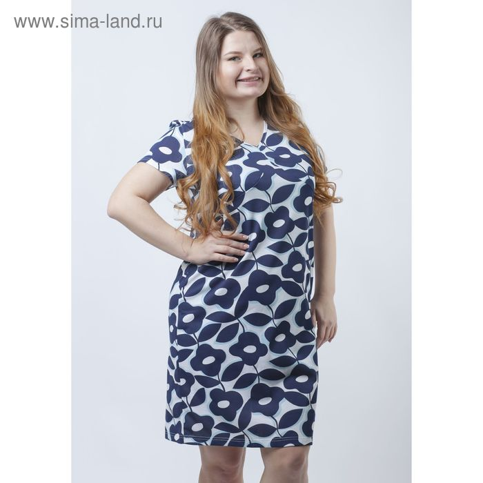 """Платье женское """"Гирлянды"""" Р708114, рост 170-176 см, р-р 60"""