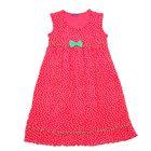 """Платье для девочки """"Горошек"""", рост 98 см (26), цвет красный Р707779_Д"""