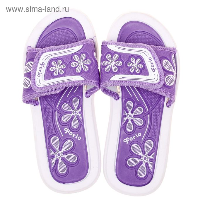Туфли пляжные детские Forio, цвет фиолетовый, размер 32 (арт. 238-5714)