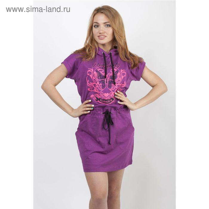 Платье женское 777 Шайн сиреневый, р-р 48