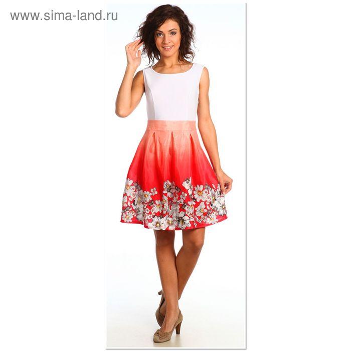 Платье женское 925 Прованс коралловый, р-р 48
