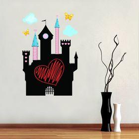 """Наклейка декоративная для рисования """"Замок принцессы"""", 40 х 60 см"""