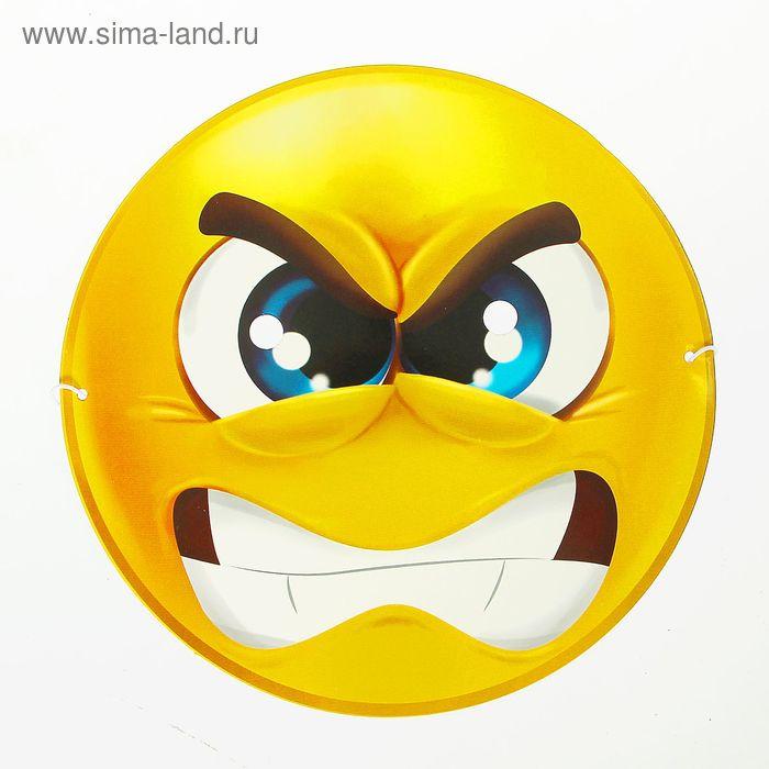 """Маска-смайл """"Злюка"""""""