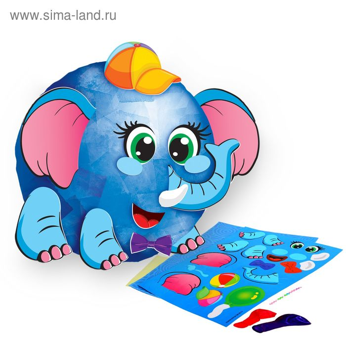 """Набор для создания игрушки из папье-маше """"Слоник"""""""