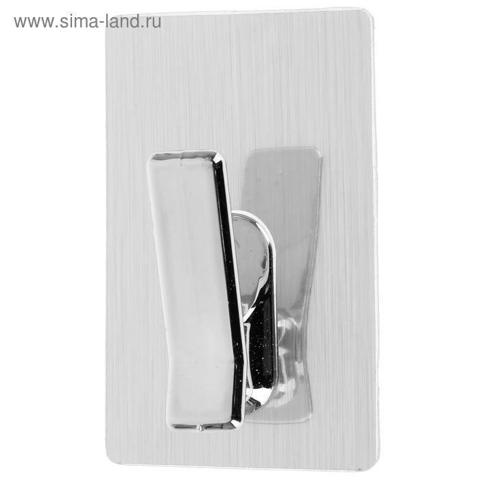 "Крючок-наклейка 7х7 см ""Steel neo"""