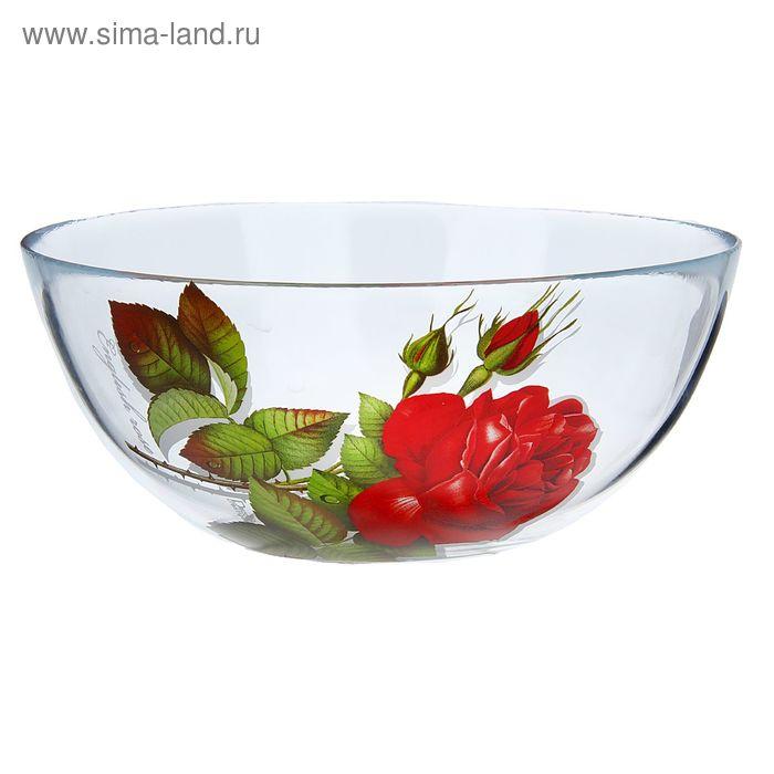 "Салатник 2,15 л ""Алая роза"", d=22 см"