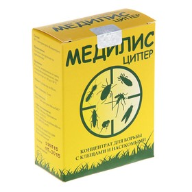 Средство для обработки территорий от клещей и насекомых Медилис Ципер, 2х50 мл