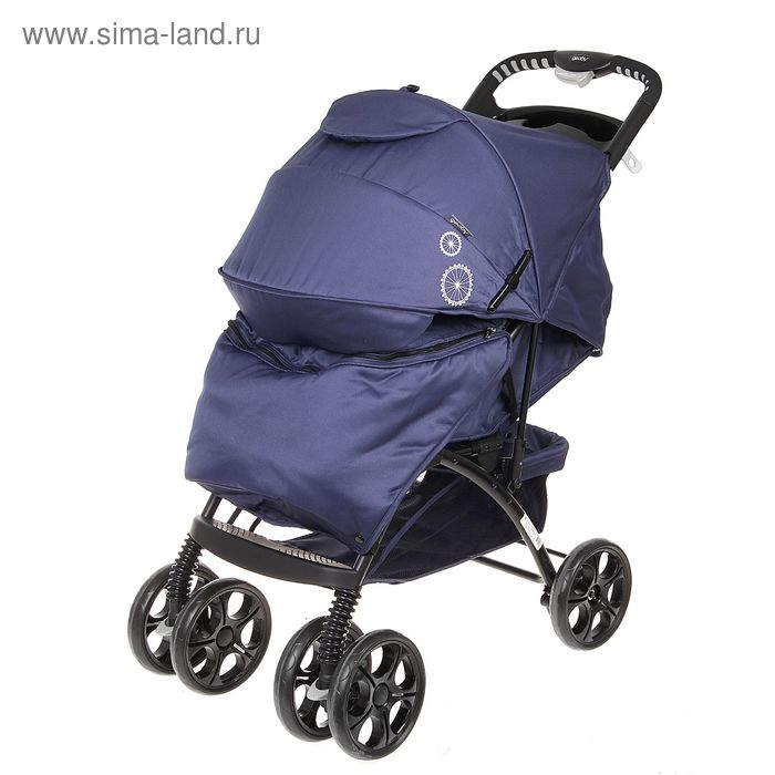 Прогулочная коляска Geoby, цвет синий