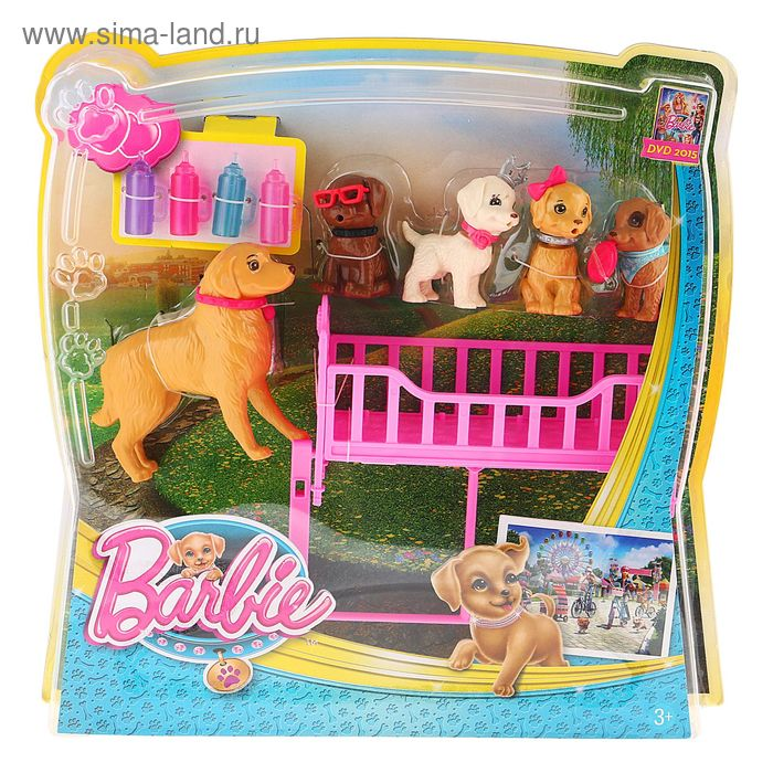 """Фигурки """"Домашние питомцы Barbie"""""""