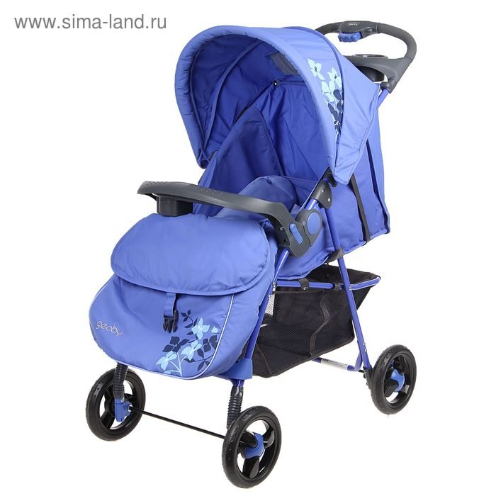 Прогулочная коляска Geoby, цвет васильковый