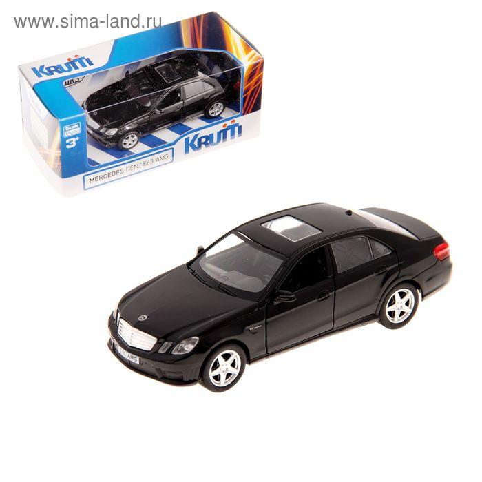 Машинка металлическая Mercedes-Benz E63 AMG, МИКС