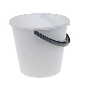 Ведро пластиковое 10 л 'Примула', цвет мраморный Ош
