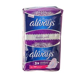 Прокладки «Always» Ultra Platinum Duo Super Plus, 16 шт