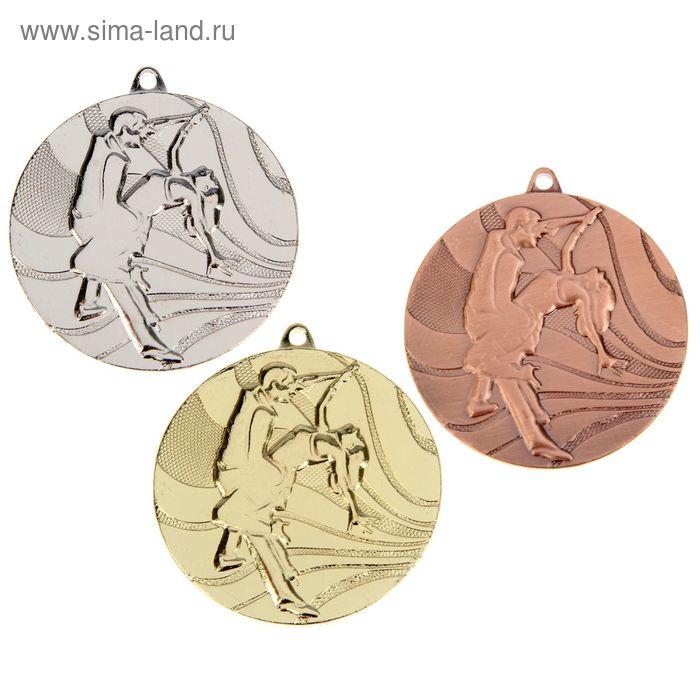 """Медаль тематическая 075 """"Танцы"""" диам 5 см. Цвет зол"""