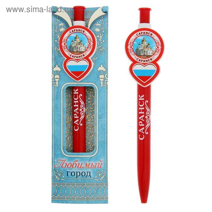 """Ручка с фигурным держателем """"Саранск"""""""