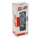 Саморезы кровельные TECH-KREP, 4.8х28 мм, сверло, цинк, с шайбой, 60 шт.