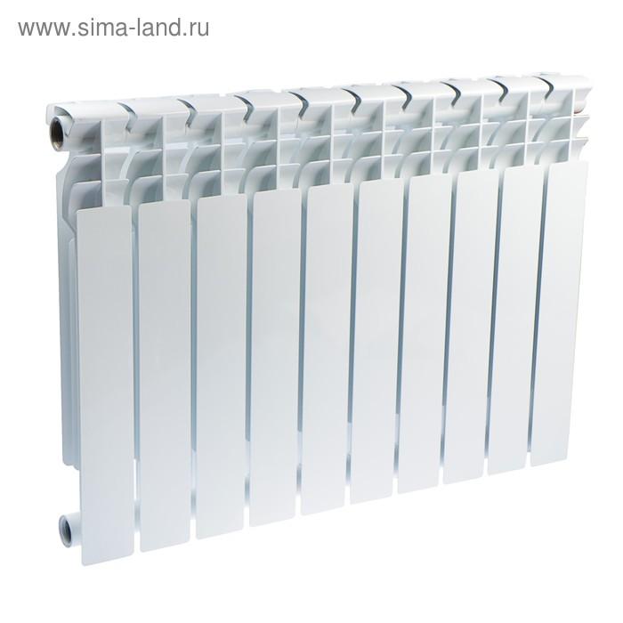Радиатор Halsen, биметаллический, BS 500/80, 10 секций